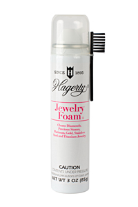 Hagerty Jewelry Foam (aerosol): Deep clean diamonds, gemstones, gold, and more...