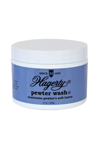 Hagerty Pewter Wash: cleans and removes tarnish from pewter