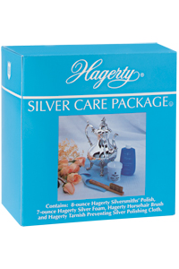 Hagerty Silver Care Package (a silver polishing kit)