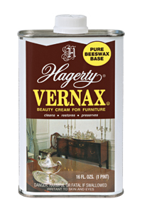 Hagerty Vernax Furniture Polish: restores wood and leather