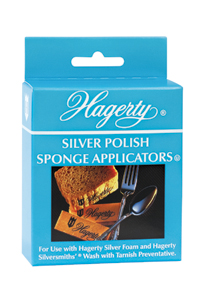 Hagerty Silver Polish Sponge Applicators: The soft, non-scratch method for applying silver polish.