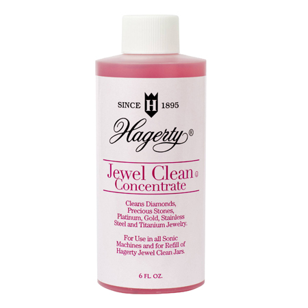 Hagerty Jewel Clean Concentrate: Refill for ultrasonic and sonic jewelry cleaning machines