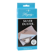 Hagerty Silver Duster: A two-piece polishing cloth for sterling, silver plate, and gold. Removes and locks out tarnish with R-22 Tarnish Preventative.