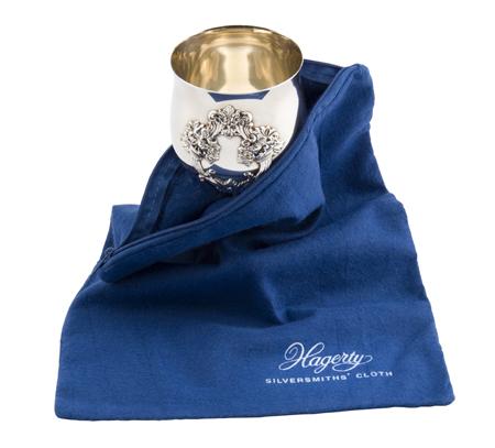 """Hagerty Silver Keeper: Tarnish preventing 9"""" x 12"""" zippered bag"""