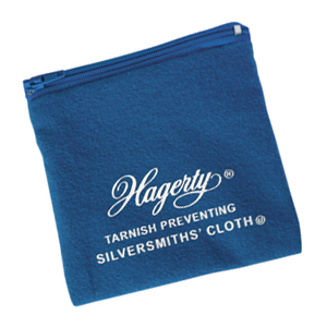 Hagerty Silver and Gold Zippered Jewelry Keeper: Jewelry storage that prevents tarnish