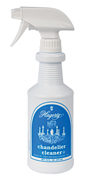 Hagerty Chandelier Cleaner: Simply spray on to chandelier, and allow to drip and dry. No wiping or rubbing!