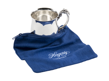 "Hagerty Silver Keeper: Tarnish preventing 6"" x 6"" zippered bag"