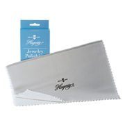 Hagerty Jewelry Polishing Cloth: A two piece polishing cloth double treated with R-22 Tarnish Preventative that removes and locks out tarnish ten times longer.